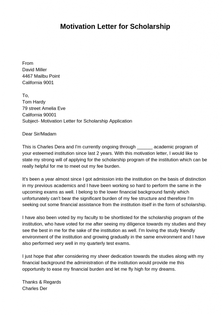 Motivation Letter For Job Application from motivation-letter.net